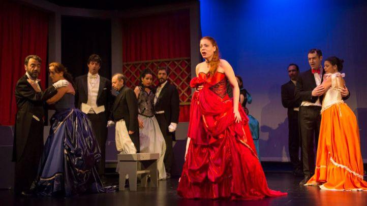 Ópera 'La Traviata', en el Teatro Reina Victoria.