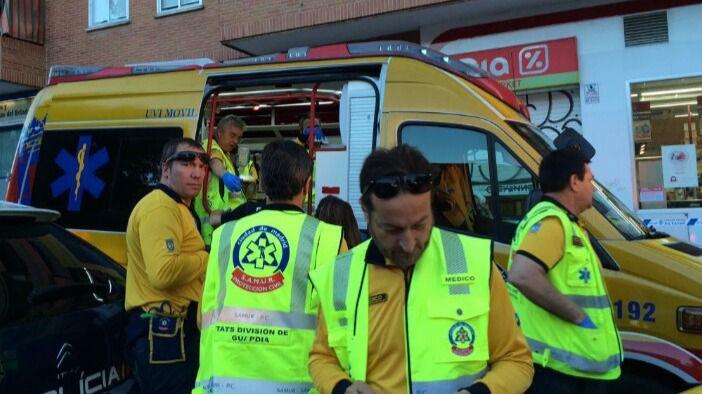 Un hombre de 84 años, en estado muy grave tras ser atropellado en Alcobendas