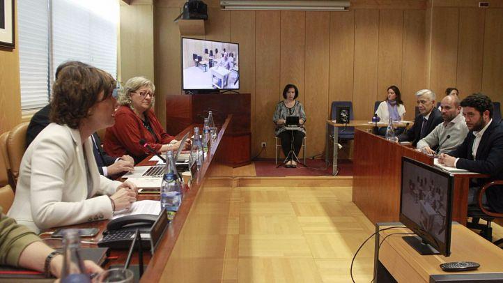 La comisión de investigación de la Asamblea ha celebrado una de sus sesiones (archivo)