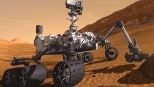 Recreación artística del rover Mars 2020 de la NASA