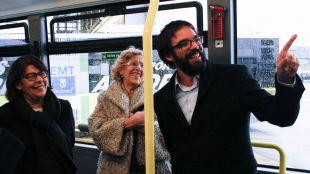 La capital presenta sus 200 nuevos autobuses, los primeros que compra para la EMT desde 2012
