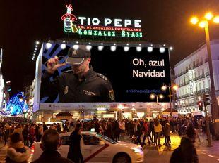 El cartel de 'Narcos' crea tendencia: la Policía desea una