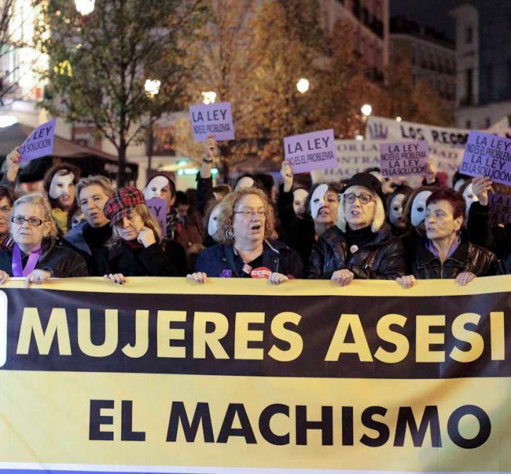 Crece un 8,8% la violencia machista en Madrid