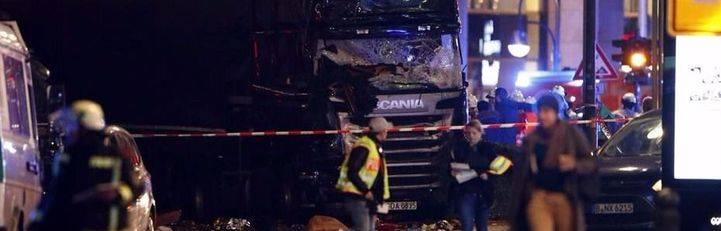 Al menos doce muertos por atropello de un camión en un mercado navideño de Berlín