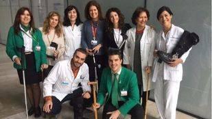 Un banco gratuito de material ortoprotésico en el Hospital Rey Juan Carlos