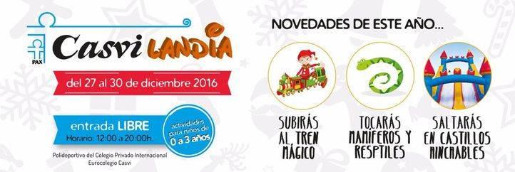 Casvilandia, en Villaviciosa de Odón del 27 al 30 de diciembre