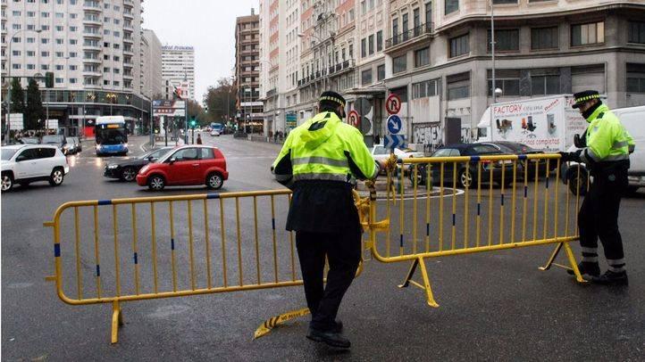 El Ayuntamiento reajusta el corte de la Gran Vía y habilitará dos carriles cuando la afluencia de peatones sea baja