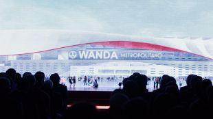 Wanda Metropolitano, nombre del nuevo estadio del Atlético de Madrid.