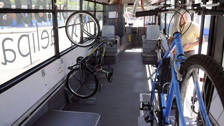 La línea Exprés Aeropuerto de la EMT ya admite bicicletas convencionales