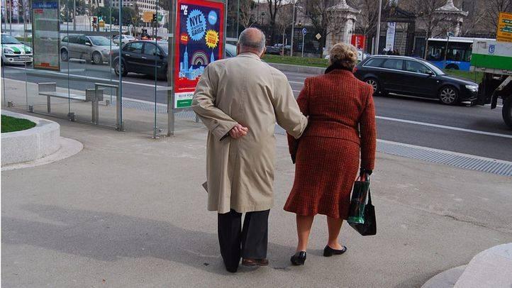 Pareja de pensionistas