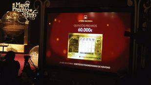 El 22.259 reparte un quinto premio en Madrid, Coslada, Móstoles, Alcobendas, Galapagar y Pinto