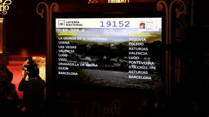 Quinto premio: 19.152, en Madrid, Alcorcón, Humanes