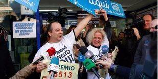 El 'Gordo', 66.513, cae íntegro en Madrid, de dónde sólo se 'escapan' el tercer premio y un quinto