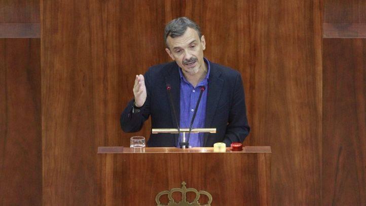 José Manuel López, portavoz de Podemos.