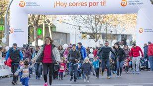 Mil niños corren en el regreso de la San Silvestre 'mini'