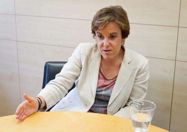 Purificación Causapié portavoz del Grupo Municipal Socialista en el Ayuntamiento de Madrid.