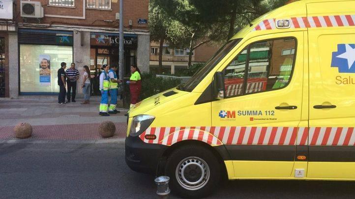 Un hombre, en estado grave tras caerse de seis metros mientras trabajaba