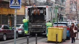 No habrá recogida de basura en Nochevieja ni en la mañana de Año Nuevo