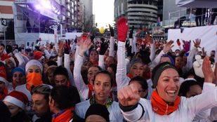 Cerca de 43.000 corredores despiden el año en la San Silvestre Vallecana