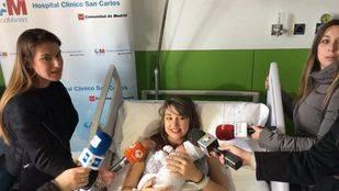 La primera bebé de 2017 se llama Alejandra y ha nacido en el Clínico