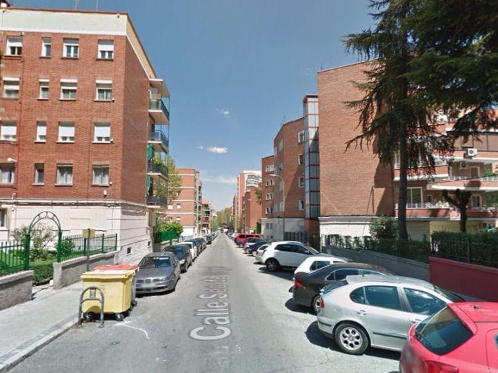 Calle Seo de Urgel donde se produjo la muerte.(Archivo)