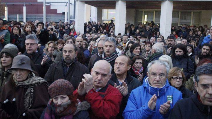 Más de 500 personas se concentran contra la violencia machista en Rivas
