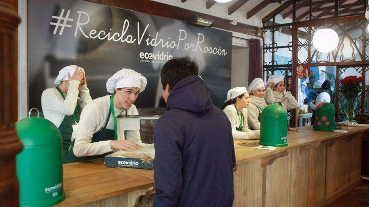 Roscones por Vidrio, una iniciativa de éxito de Ecovidrio