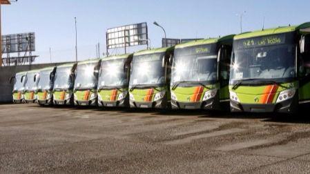 La huelga en los autobuses del Noroeste arranca este lunes