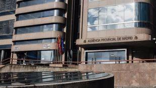Audiencia Provincial de Madrid, en la calle Santiago de Compostela número 96.
