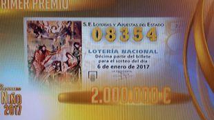 El segundo premio deja un pellizco en Madrid, Villalba y Griñón