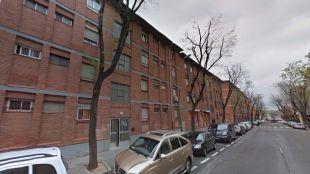 La Policía acudió alertada a la calle Barros, en Entrevías