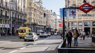 El tráfico privado vuelve a rodar sobre la Gran Vía con el final de las restricciones