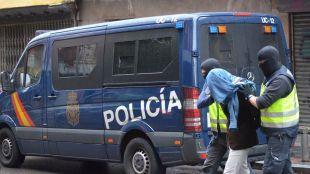 La Policía Nacional desarticula en Madrid   una célula terrorista yihadista activa
