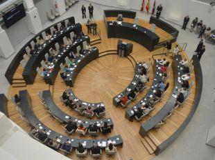 Salon de plenos del Ayuntamiento de Madrid
