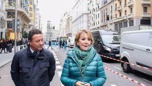 Aguirre propone un túnel de Cibeles a Plaza de España si se peatonaliza la Gran Vía