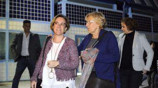 Purifación Causapié y Manuela Carmena