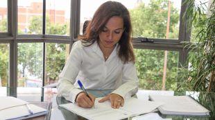 Sara Hernández, alcaldesa de Getafe