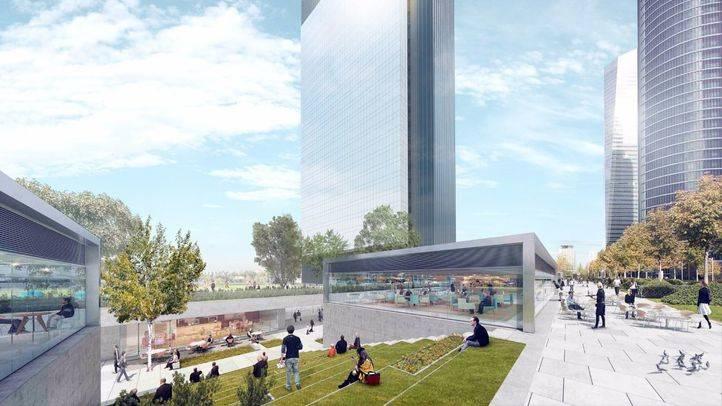 La quinta torre de la Castellana albergará un campus universitario y un hospital