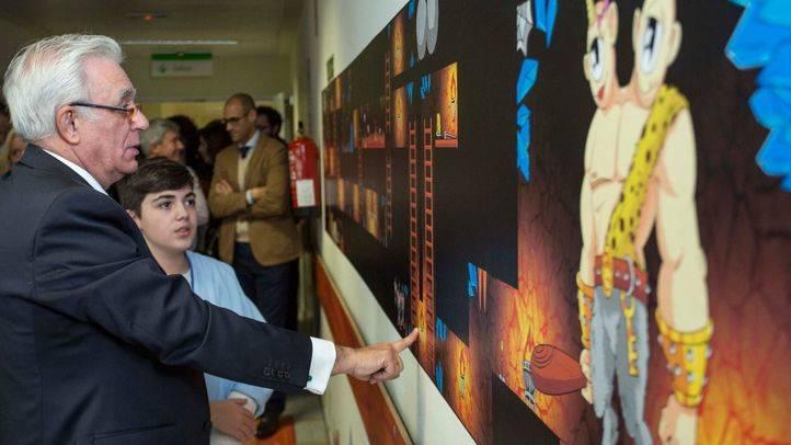 El Hospital Infanta Sofía convierte su planta de hospitalización pediátrica en una 'Tierra Encantada'