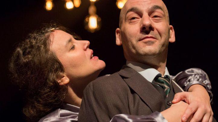 Espectáculo 'Edith Piaf. Taxidermia de un gorrión' en el Teatro Español