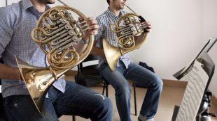 Instrumentos musicales en la Biblioteca musical Víctor Espinós