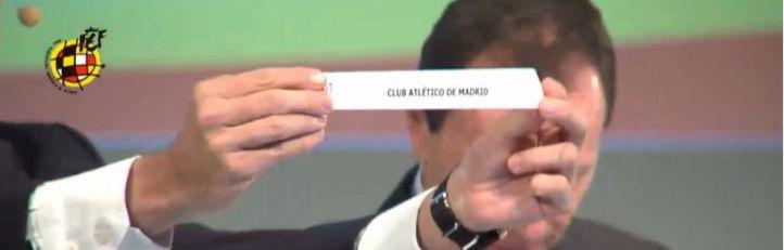 Los equipos madrileños se esquivan en el sorteo de cuartos de la Copa del Rey
