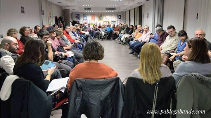 Reunión de Podemos Sanse