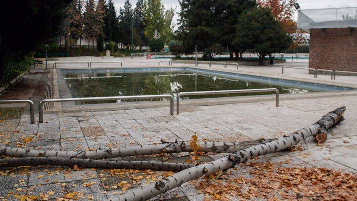 Club de natación Moscardó en Usera. (Archivo)