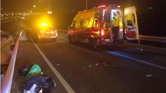 Un motociclista, grave tras un accidente en Las Tablas