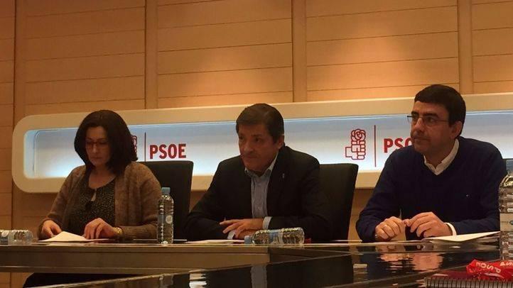 Javier Fernández preside la reunión de la Gestora previa al Comité Federal