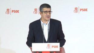 Patxi López lanza su candidatura para