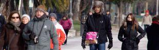 Gente abrigada en el centro de Madrid (archivo)