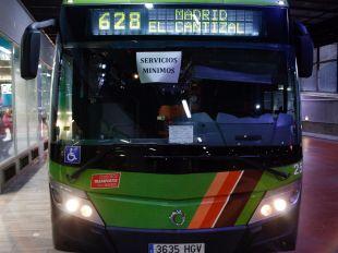 Huelga este lunes y martes en los buses que conectan Madrid con Las Rozas y otros municipios
