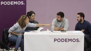 Reunión del Consejo ciudadano de Podemos Comunidad de Madrid tras las primarias donde ha salido elegido Ramón Espinar como secretario general. (Archivo)